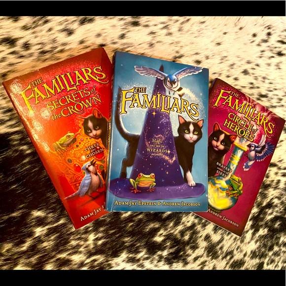 """The Familiars"" set of 3 paperback books, NWOT"